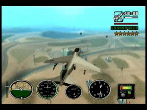 GTA San Andreas - 6 stars level cleo mod