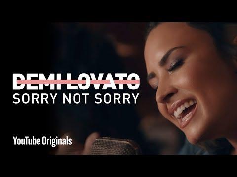 "Demi Lovato - ""Sorry Not Sorry"" Live in the Studio"
