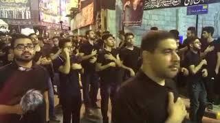 الرادود احمد قربان مأتم الحاج عباس ليلة سابع 1439/2017