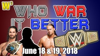 Big Cass Released! Seth's Open Challenge! Who's the Next #1 Contender? | Who War It Better