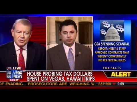 Rep. Chaffetz on FOX News re: GSA Excessive Spending Scandal, 4/16/12