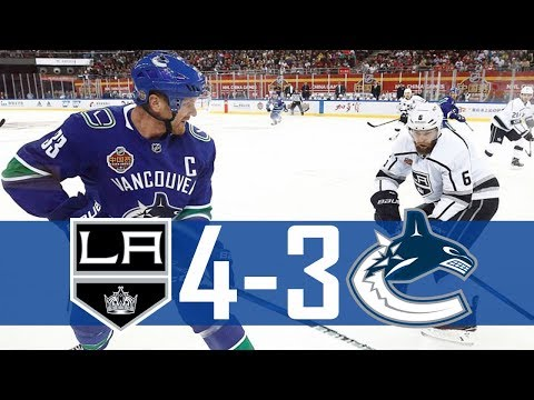Canucks vs Kings | Beijing | Pre Season | Highlights (Sept. 23, 2017) [HD]