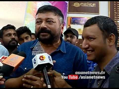 Jayaram celebrate his new release film celebration with differently abled childrens