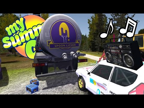 TERRORIZING FINLAND w/ EDM! Custom Radio Music, Paint Jobs - My Summer Car Gameplay Highlights Ep 36