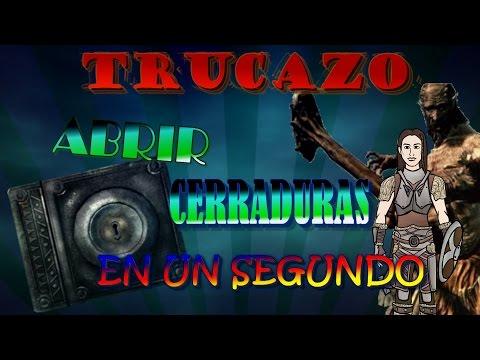 EL MEJOR TRUCO PARA ABRIR CERRADURAS (100% REAL) - Skyrim
