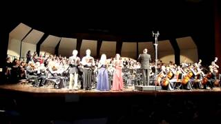 Lord Nelson Mass VI Et incarnatus (Hayden)  - CCHS choirs & orchestra in concert 2009-12-17