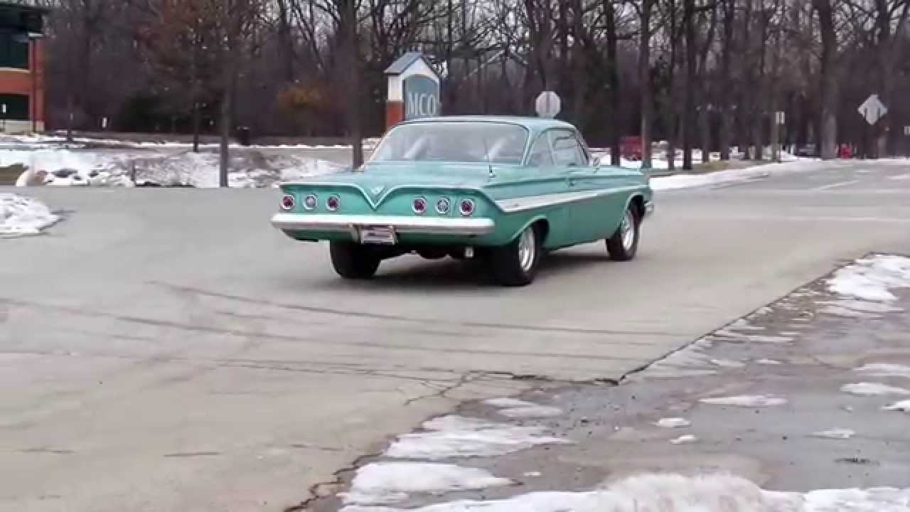 American Muscle Cars-1961 IMPALA FOR SALE- CRYSTAL LAKE IL - YouTube