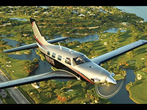 Piper M500 Aircraft Demonstration Flight with Dick Rochfort