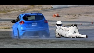 Ford Focus RS Hot Lap Driven by 'The Stig'(Yes! Ben Collins, otherwise known as 'The Stig', took me for a hot lap around Ford's test track onboard the 2017 Ford Focus RS! If you're familiar with the BBC's ..., 2016-09-16T03:28:31.000Z)