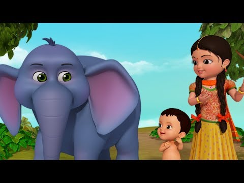 Hathi Raja Kahan Chale New Video | Hindi Rhymes for Children | Infobells