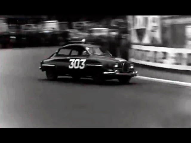 1962 Rally Montecarlo - Winners Carlsson / Häggbom (Saab 96) - Böhringer / Lang (Mercedes 220 SE)
