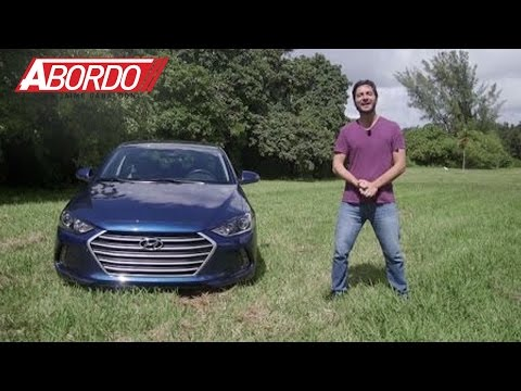 Hyundai Elantra 2017 Prueba A Bordo Completa