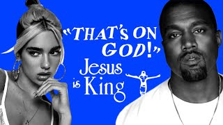 Kanye West - Oฑ God (feat. Dua Lipa) [LEAK]