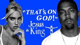 Kanye West - Oฑ God (feat. Dua Lipa) [LEAK]