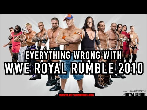Episode #301: Everything Wrong With WWE Royal Rumble 2010