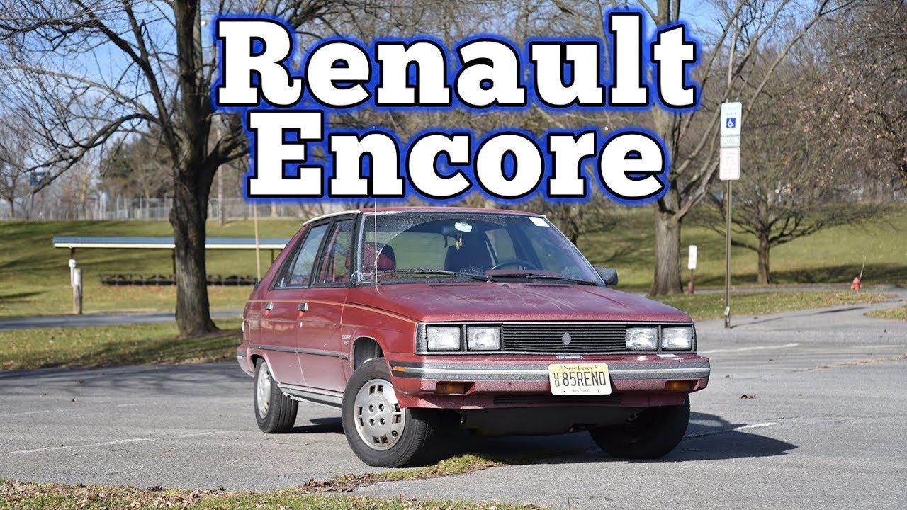 1985 Renault Encore Ls Regular Car Reviews