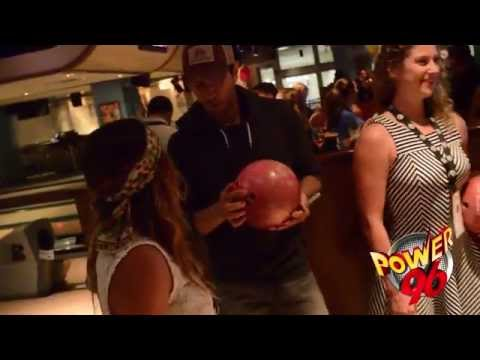 #Power96 - Bowling with Enrique Iglesias