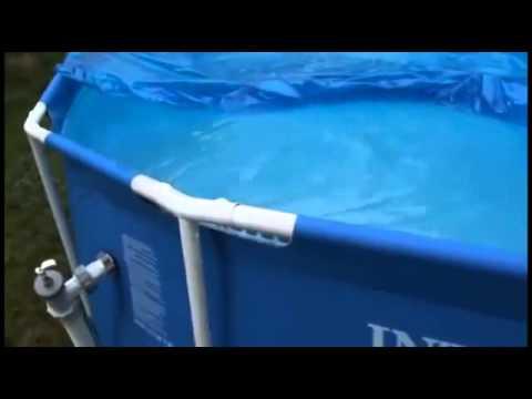 Каркасный бассейн Intex 28200 Metal Frame Pool (305х76) - дисней .