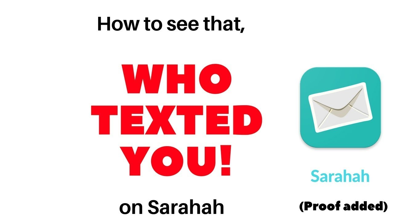 How to see that who texted you on Sarahah | Revealed | New Method [Proof  added] | TechitEazy