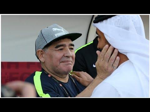 Aktuelle Nachrichten | Diego Maradona nicht mehr Trainer bei Zweitligist aus Dubai