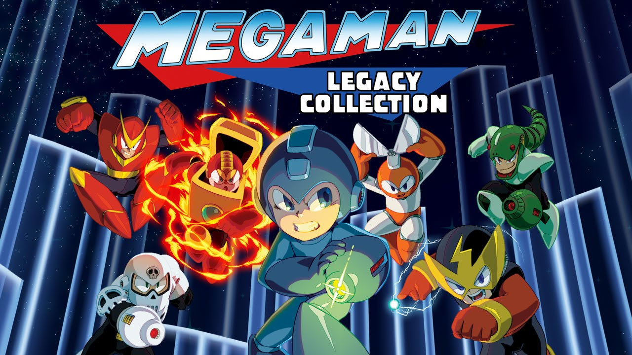 Image result for mega man legacy collection
