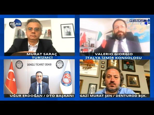 Deha TV-Denizli ile İtalya ticari bağını güçlendirecekler 06.05.2020