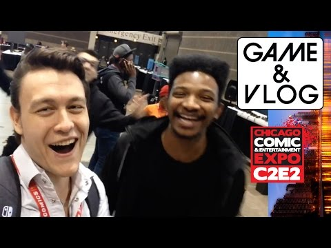C2E2 2017 Vlog | Chicago Comic & Entertainment Expo 2017 w/ RogersBase & EWNetwork