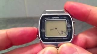 Casio A201 Blue Thunder Vintage Digital watch