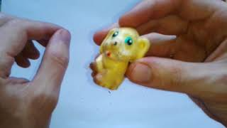 Видео: СТАТУЭТКА СОБАКИ - игрушка для детей