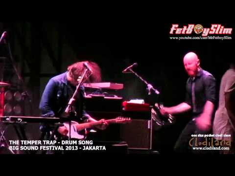 THE TEMPER TRAP - DRUM SONG live at Big Sound Festival Jakarta, Indonesia 2013