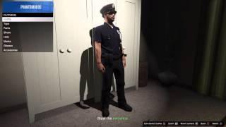 Cop uniform glitch (after patches) | GTA V Online PS4