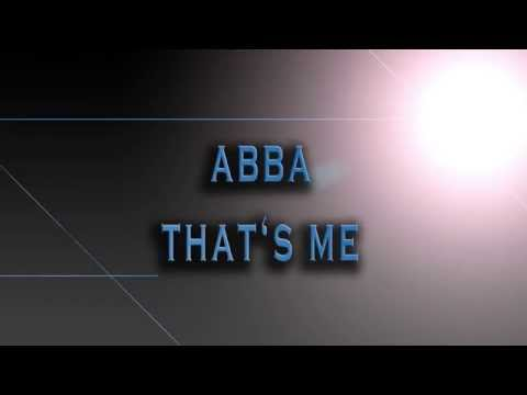 ABBA-That's Me [HD AUDIO]