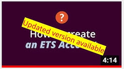 The GRE® General Test: How to Create an ETS Account