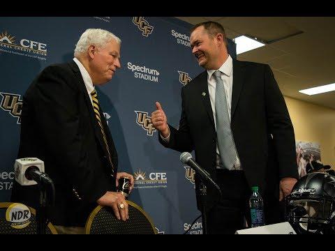 PRESSER | Josh Heupel Introduced As New UCF Head Coach