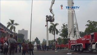 Download Mobil Pemadam Kebakaran Penjangkau Gedung Pencakar Langit Mp3 and Videos