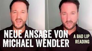 Neue Ansage von Michael Wendler zum Thema (A Bad Lip Reading)