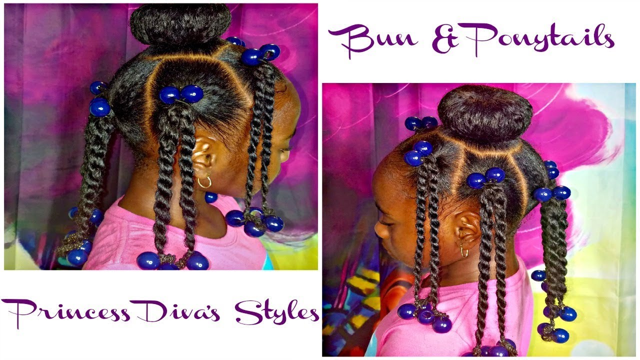 Requested Hairstyle Natural Bun Ponytails Dollie Me Ootd
