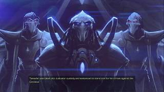 Let's Play Starcraft Part 20 [The Trial Of Tassadar]