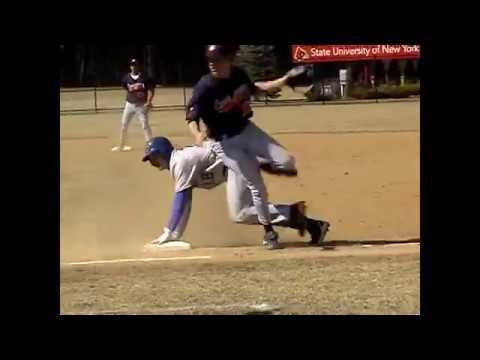 Clinton CC - Schenectady Baseball  4-14-09