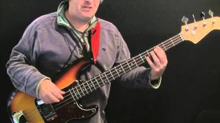 How To Play Bass to Back In The USSR
