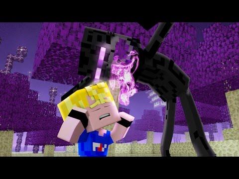 "♪ ""Enderman's Wrath"" - A Minecraft Original Music Video! (Minecraft Song)"