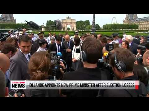 Hollande names new PM following party's election defeat