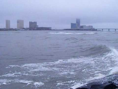 Brigantine nj absecon inlet fly fishing youtube for Brigantine fishing report