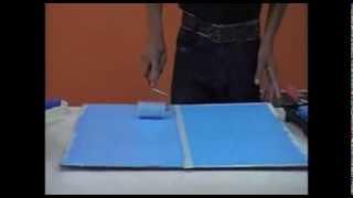 Curso de Pintura Decorativa - Imitação de Jeans