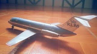KLM DC-9 Papercraft