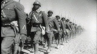 HD Historic Archival Stock Footage WWII - United Nations On The March - North Africa 1942