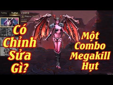 [Gcaothu] Veera quẩy giữa đội hình ăn Megakill hụt - Pháp sư kém máy mắn chỉnh sửa phiên bản mới