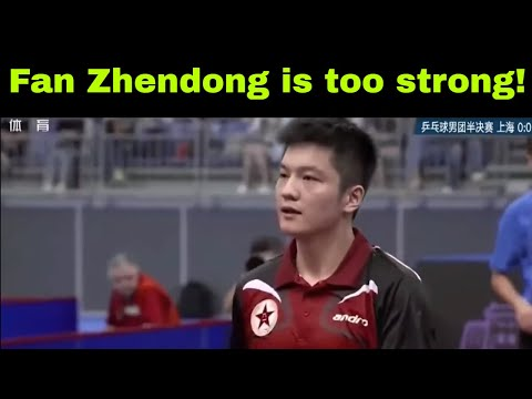 Xu Xin (Shanghai) vs Fan Zhendong (PLA) Chinese National Games 2017