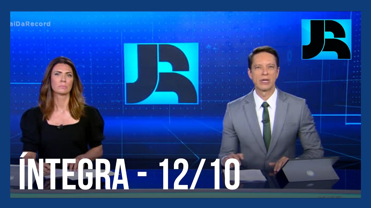 Download Assista à íntegra do Jornal da Record | 12/10/2020