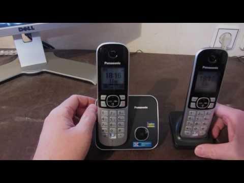 Видео обзор Panasonic KX-TG6812